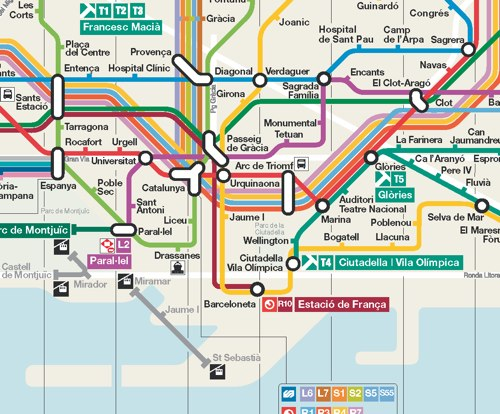 Интерактивные карты метро для